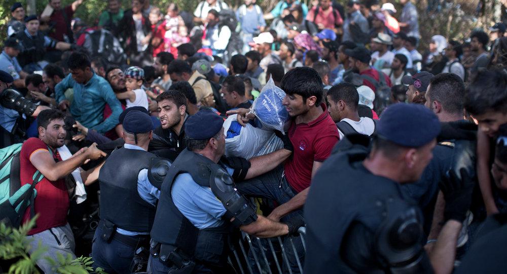 Migrants, Croatie
