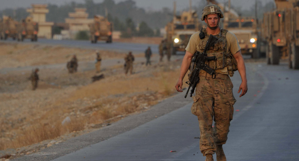 Officier de l'Otan en Afghanistan