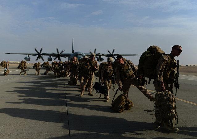 Troupes américaines au Proche-Orient