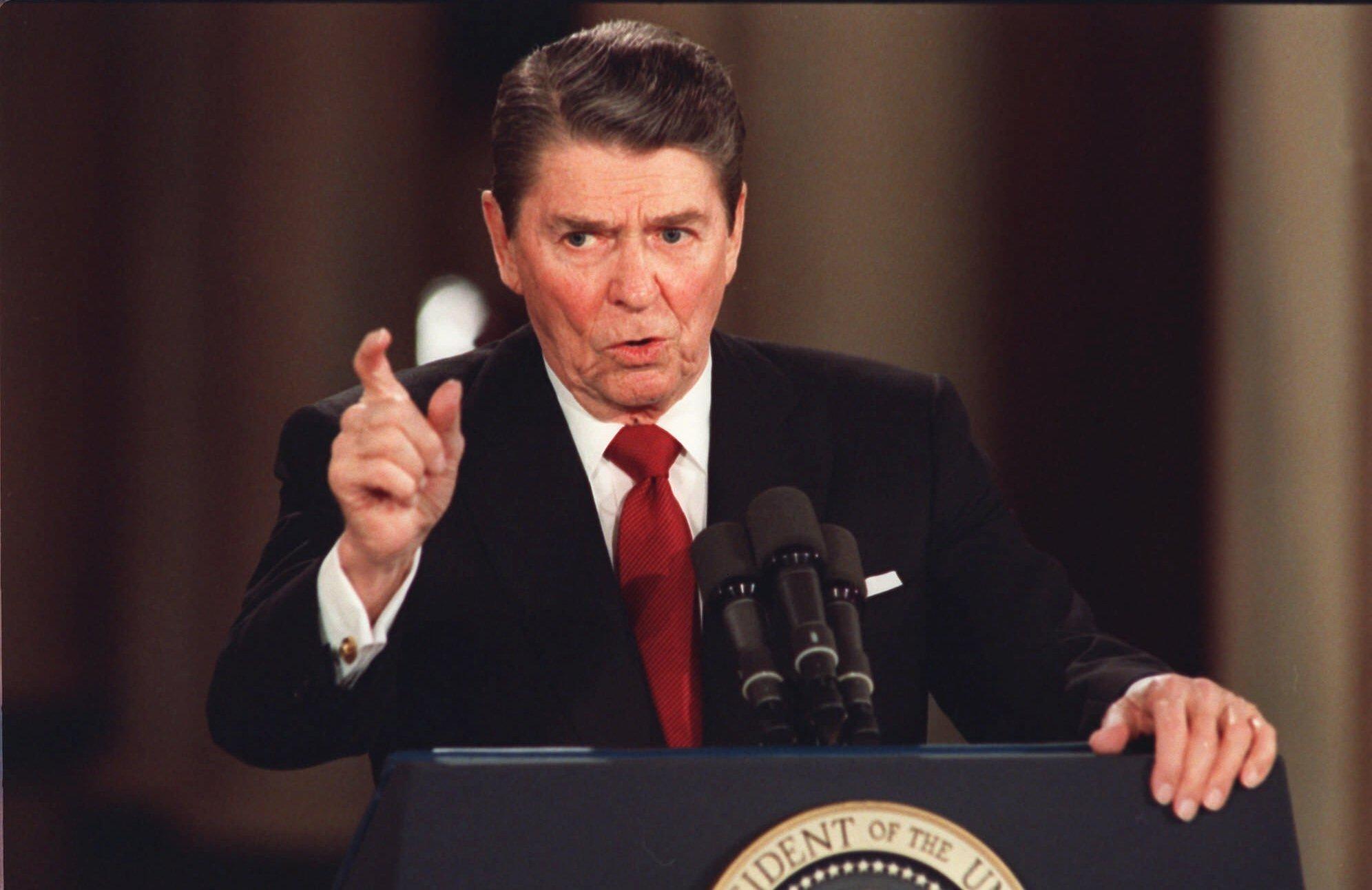 Ronald Reagan, 1987