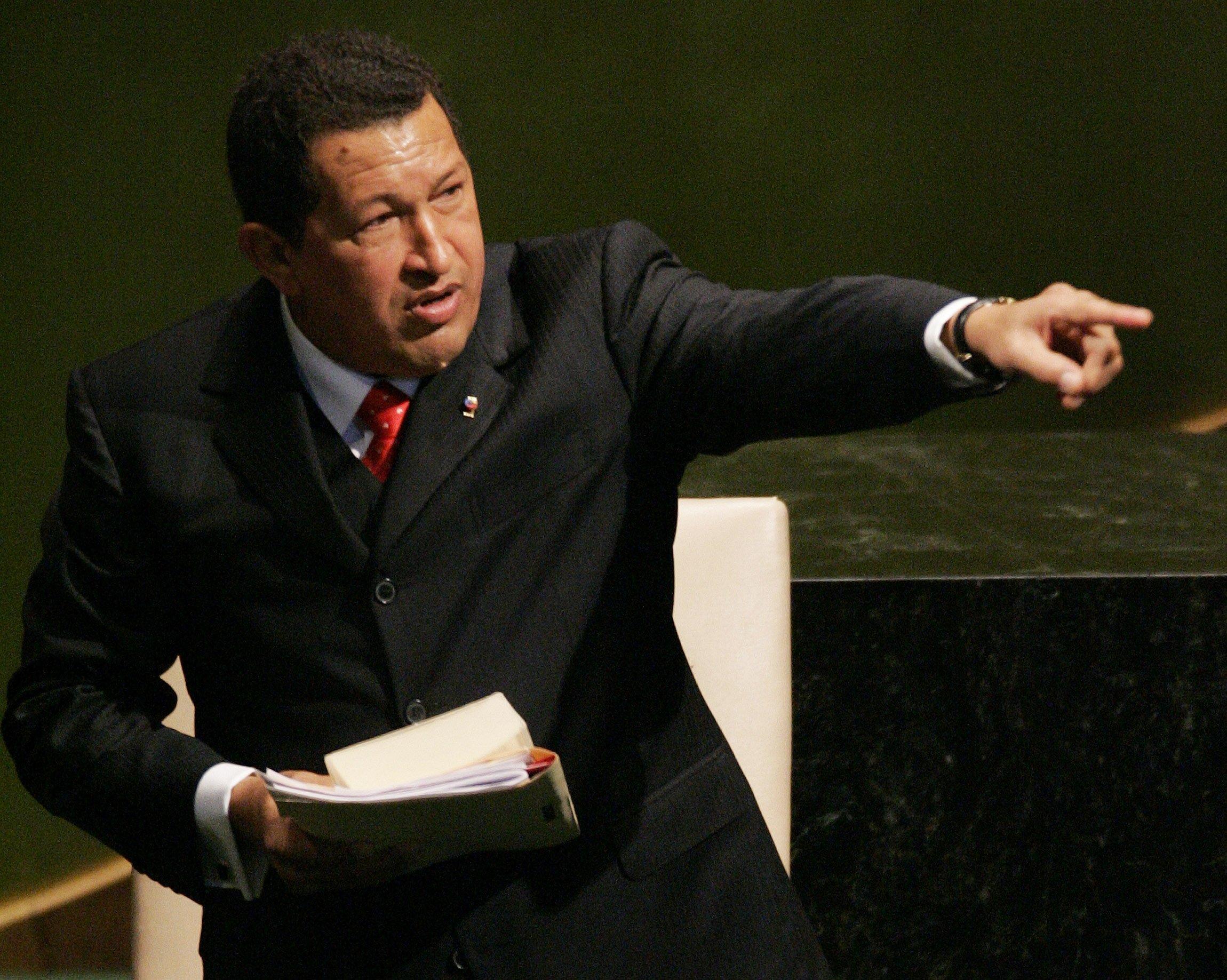 Hugo Chavez, 2006