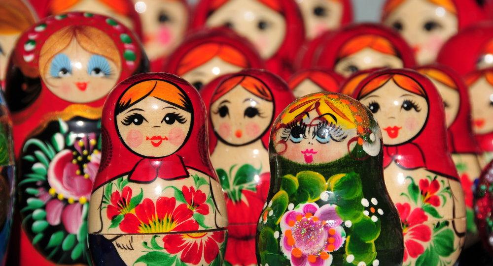 Les Matriochkas, poupées russes