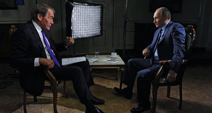 Vladimir Poutine a accordé une interview au journaliste américain Charlie Rose