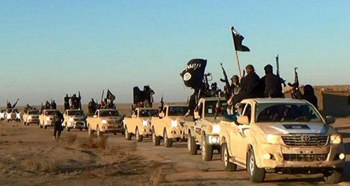 Le groupe djihadiste Etat islamique