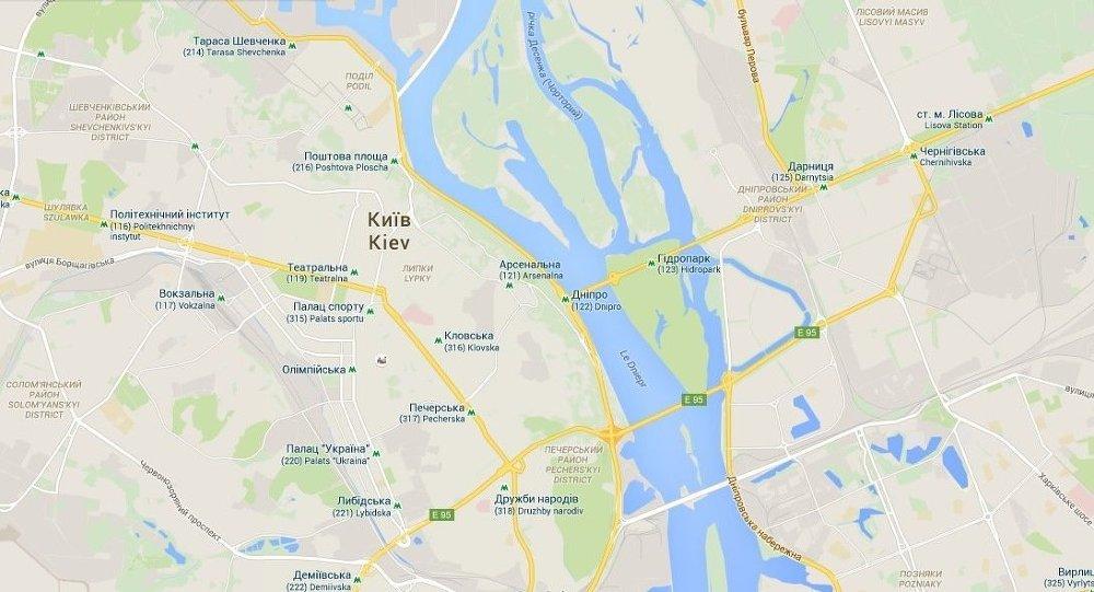 carte de Kiev