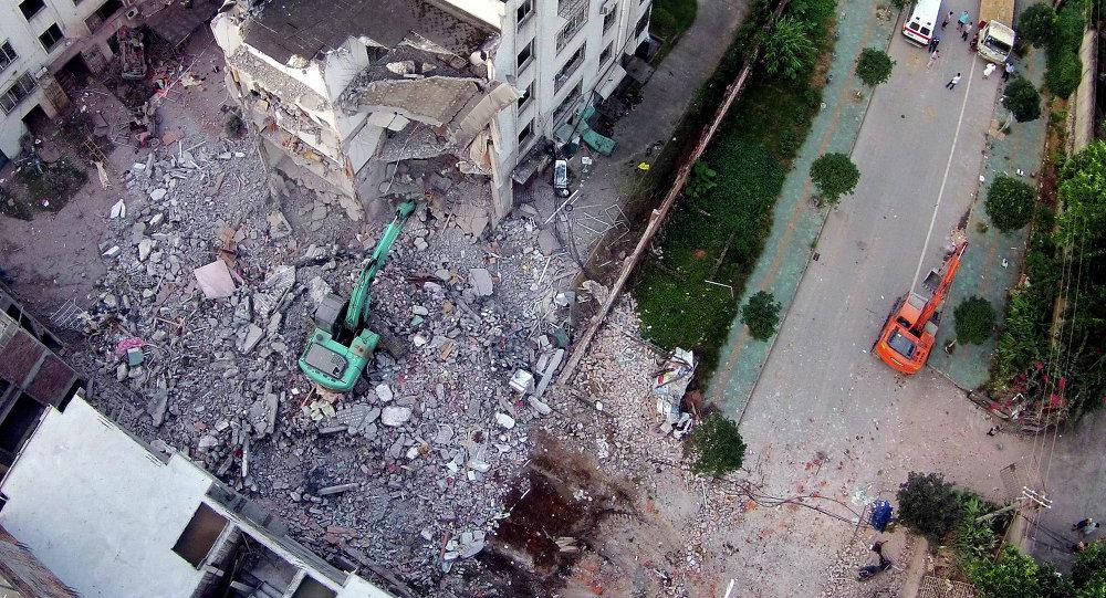 Chine: série d'explosions