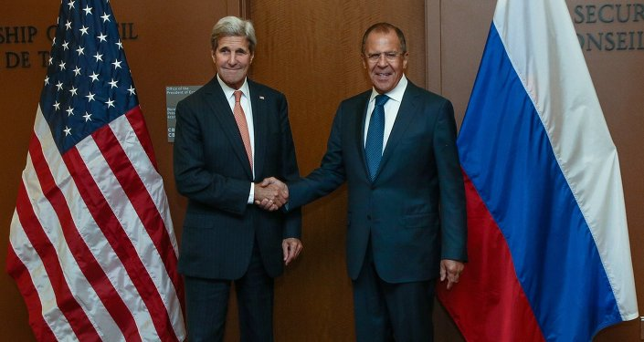 John Kerry et Sergueï Lavrov, Onu, septembre 2015