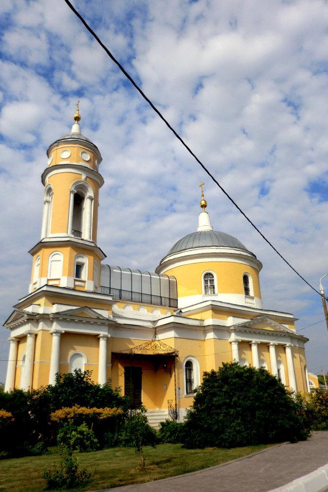 la Cathédrale de l'Exaltation de la Sainte Croix de Kolomna