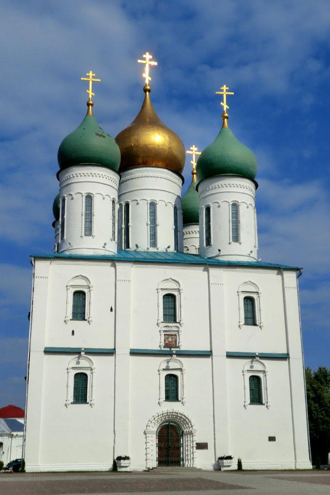 La Cathédrale de la Dormition de Kolomna