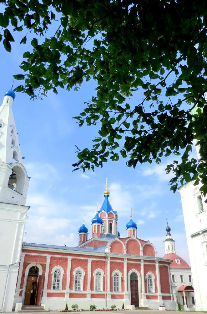 l'église de Notre-Dame-de-Tikhvin de Kolomna