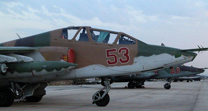 Les avions militaires russes à Lattaquié