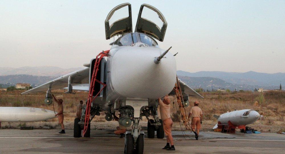 Su-24 russe. Lattaquié. Syrie.