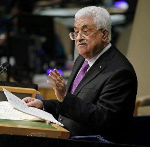 Le chef de l'Autorité palestinienne Mahmoud Abbas