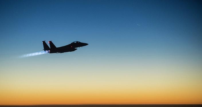 Un F-15E américain. Archives