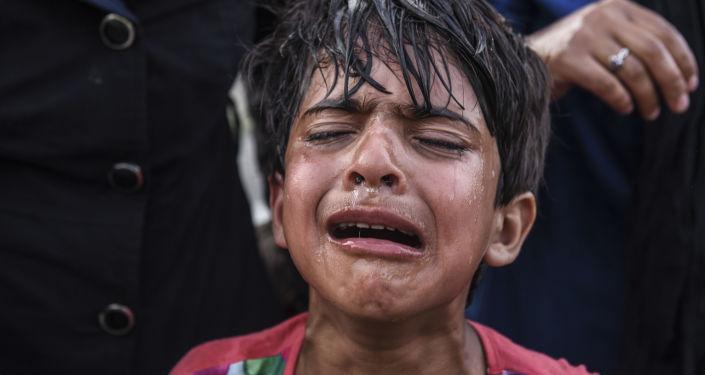 Un petit réfugié