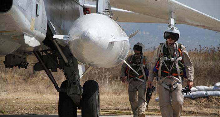 Les forces aériennes russes en Syrie
