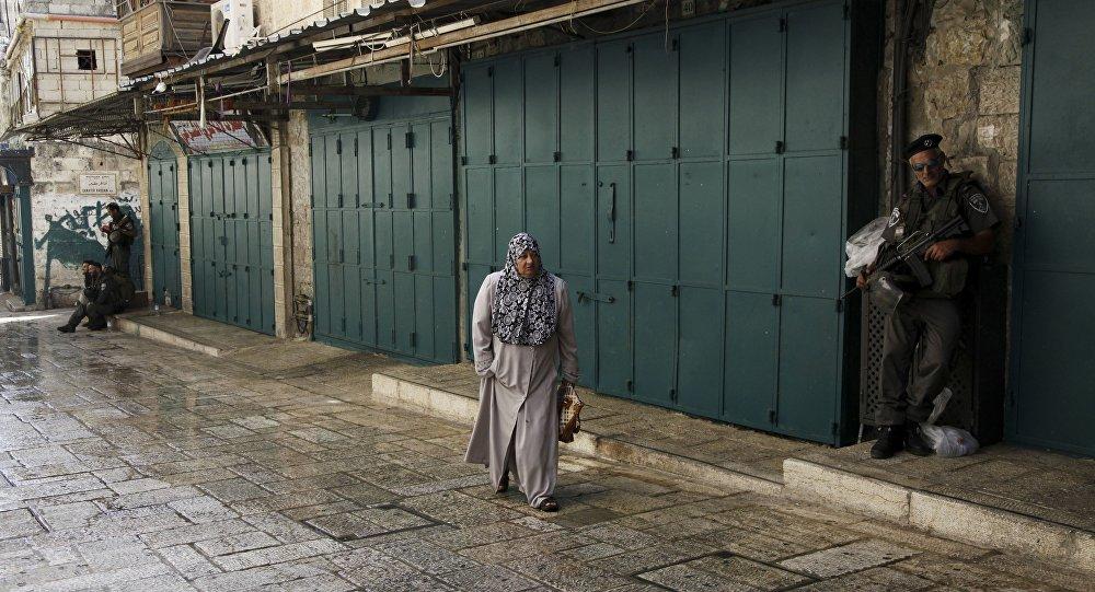 L'accès à la vieille ville de Jérusalem est limité pour les musulmans.