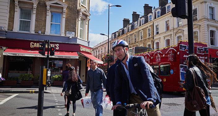 Rue à Londres