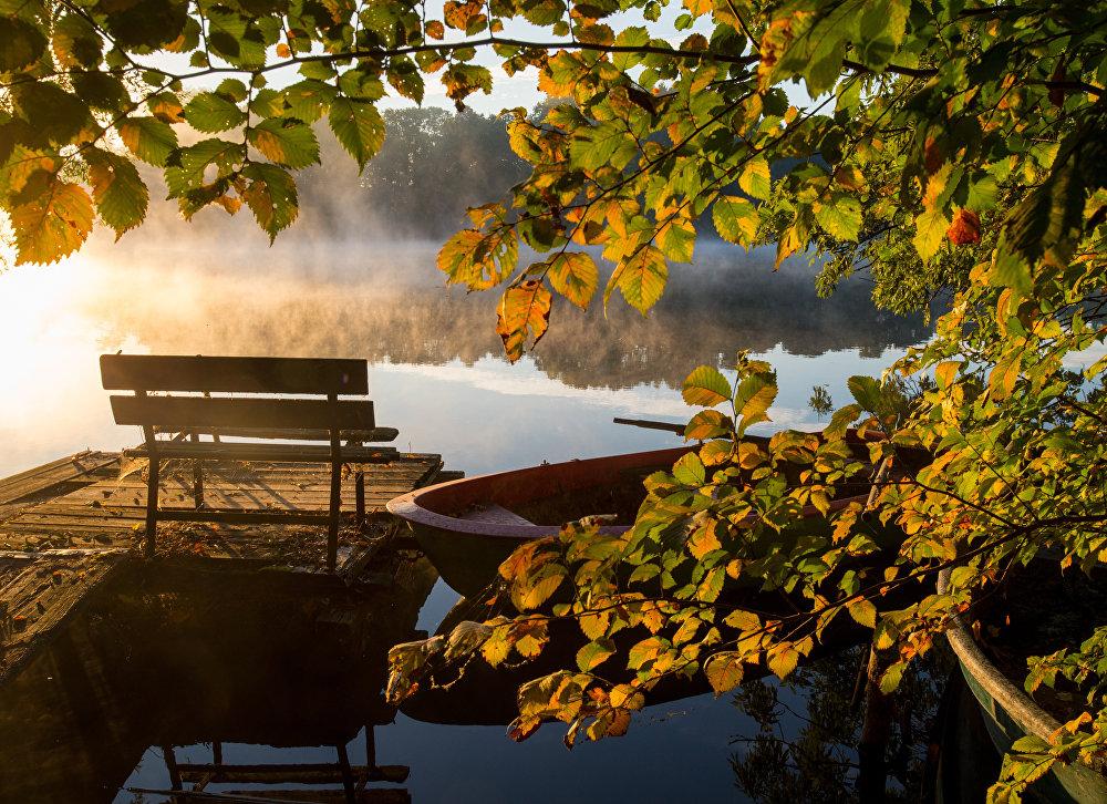 Le lac Hohenjesarscher See, Allemagne