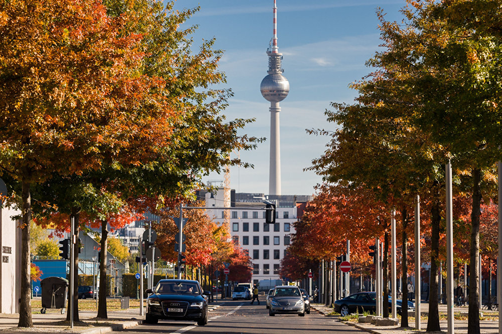 Berlin en automne