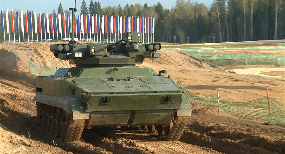Des robots de combat testés en Russie