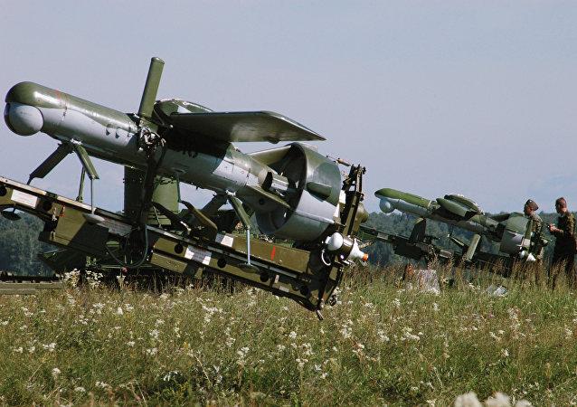 Un drone russe utilisé pour commander des lance-missiles multiples