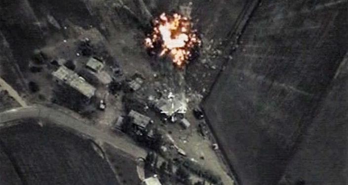 Frappes ciblées de l'aviation russe en Syrie