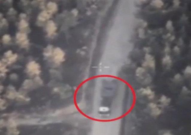 Syrie: images aériennes du ministère de la Défense russe