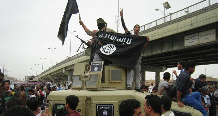 Combattants de l'Etat islamique en Irak