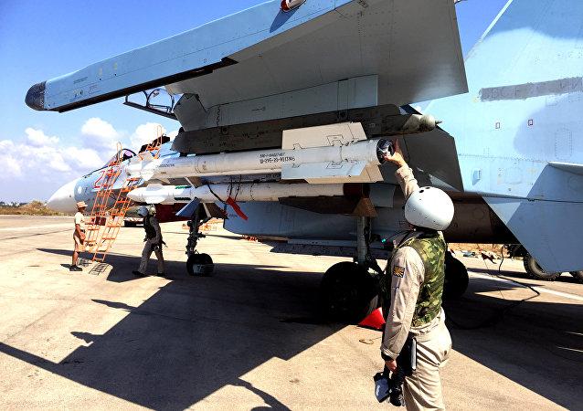 Les avions russes déployés en Syrie