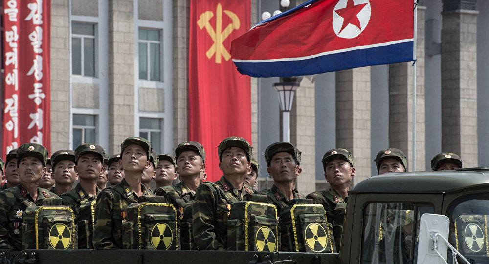 défilé militaire, Pyongyang