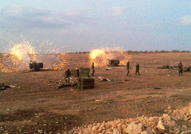 L'armée régulière syrienne passe à l'offensive dans le nord de la province de Hama