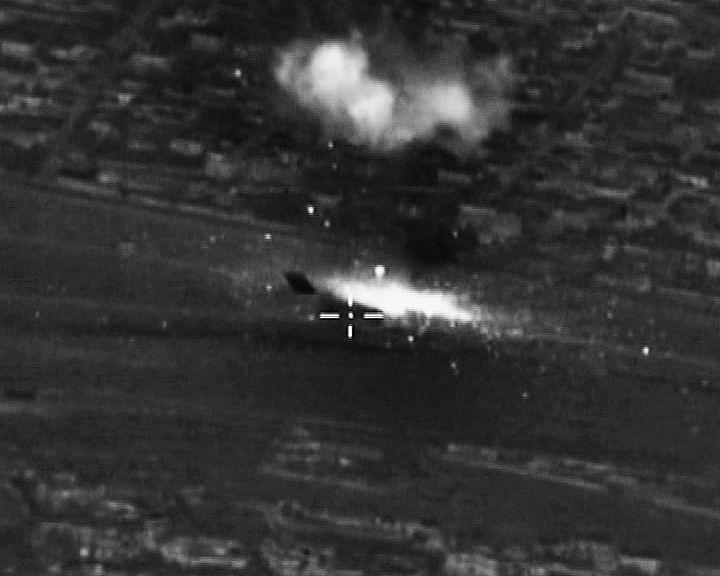 L'aviation russe frappe à nouveau l'Etat islamique