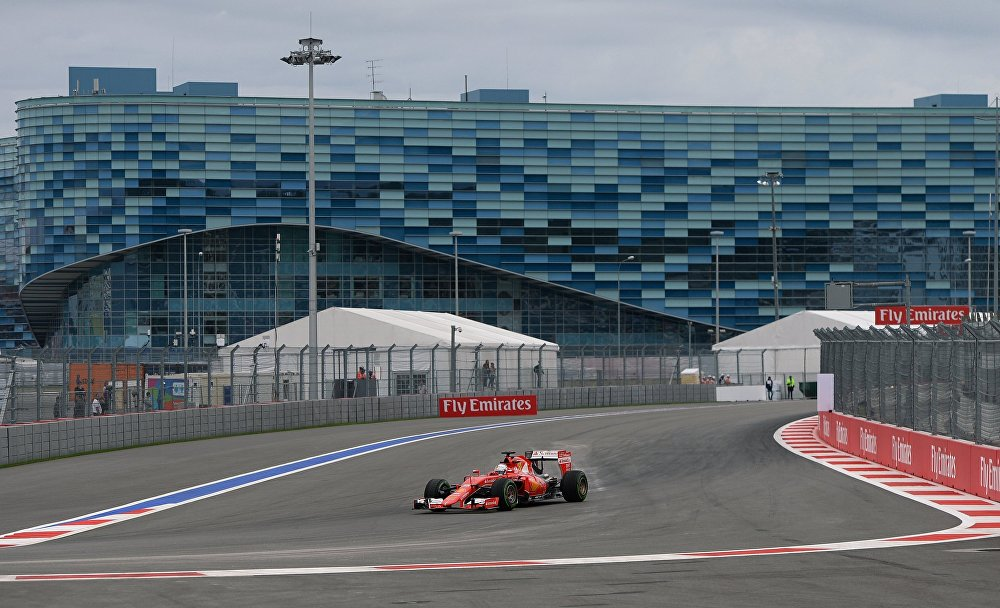Formule 1 à Sotchi: coup d'envoi des essais libres