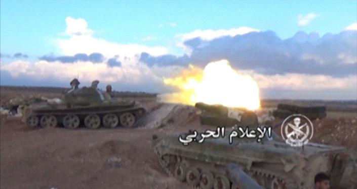 L'armée syrienne libère Hama