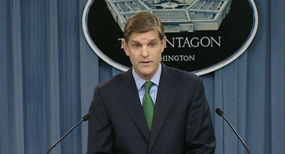 Peter Cook, porte-parole du Pentagone