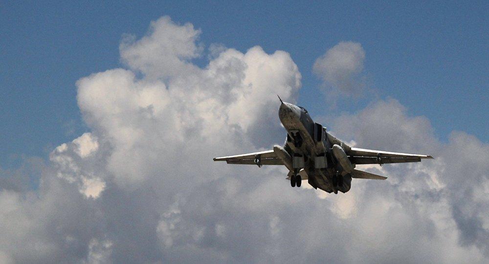 avion russe Su-24 en Syrie