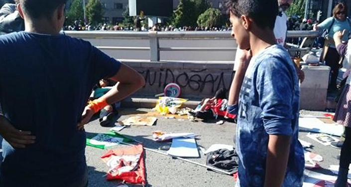 Violentes explosions à Ankara lors d'une manifestation pour la paix