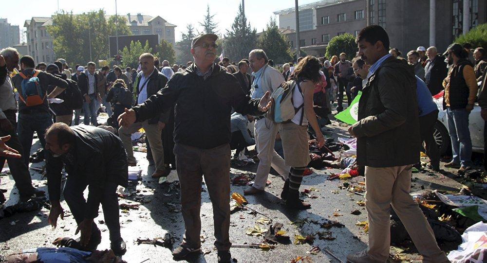 Double attentat terroriste à Ankara le 10 octobre 2015