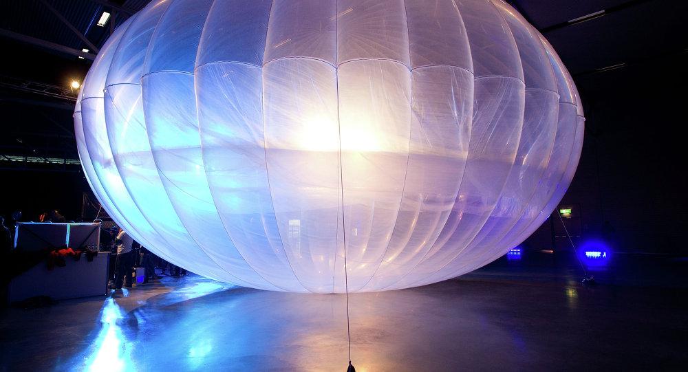 Un ballon du projet Loon de Google