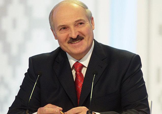 Le président biélorusse actuel Alexandre Loukachenko