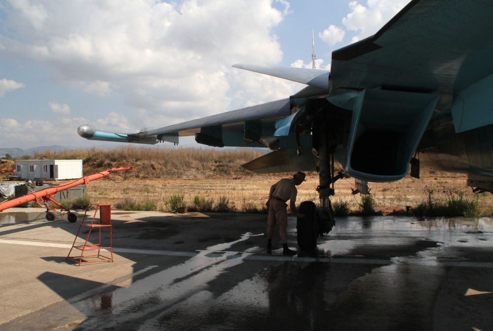 Les missions de l'aviation russe en Syrie