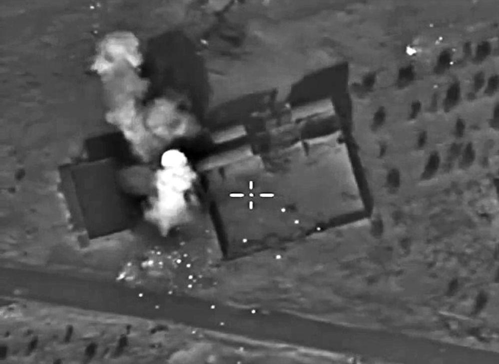 Les missions de l'aviation russe en Syrie