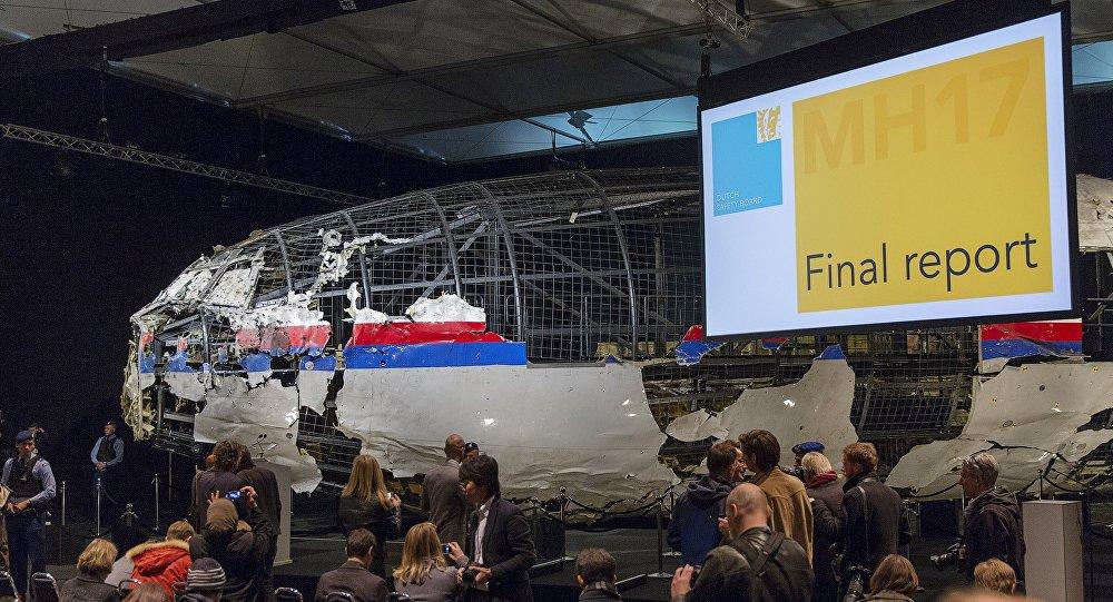 La commission néerlandaise présente le rapport sur le crash du vol MH17