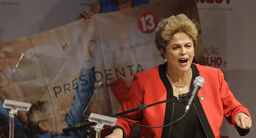 Dilma Rousseff, Oct. 13, 2015
