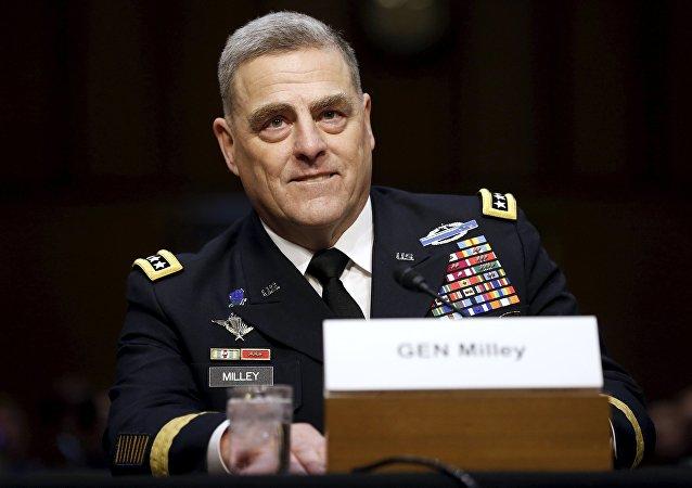 Mark Milley, chef de l'état-major de l'Armée de terre américaine