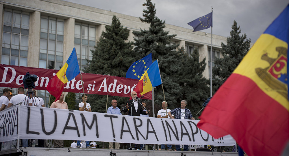 Manifestations en Moldavie