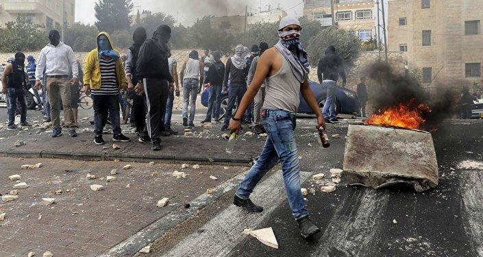 Les affrontements opposant les forces israéliennes et les manifestants palestiniens