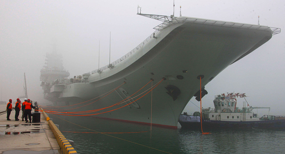 Le porte-avion chinois Liaoning