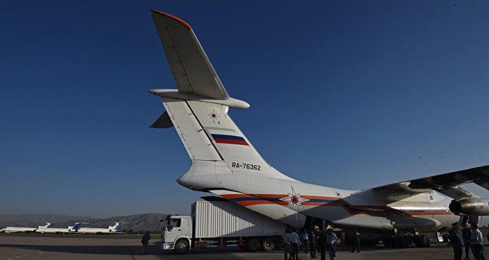 Avion du ministère russe des Situations d'urgence (archives)